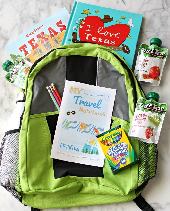 kids travel notebook backpack 700