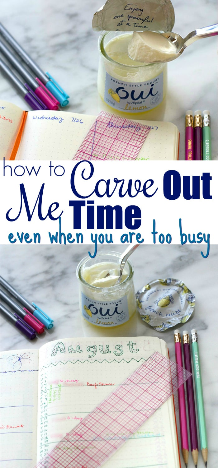 Carve Out me time