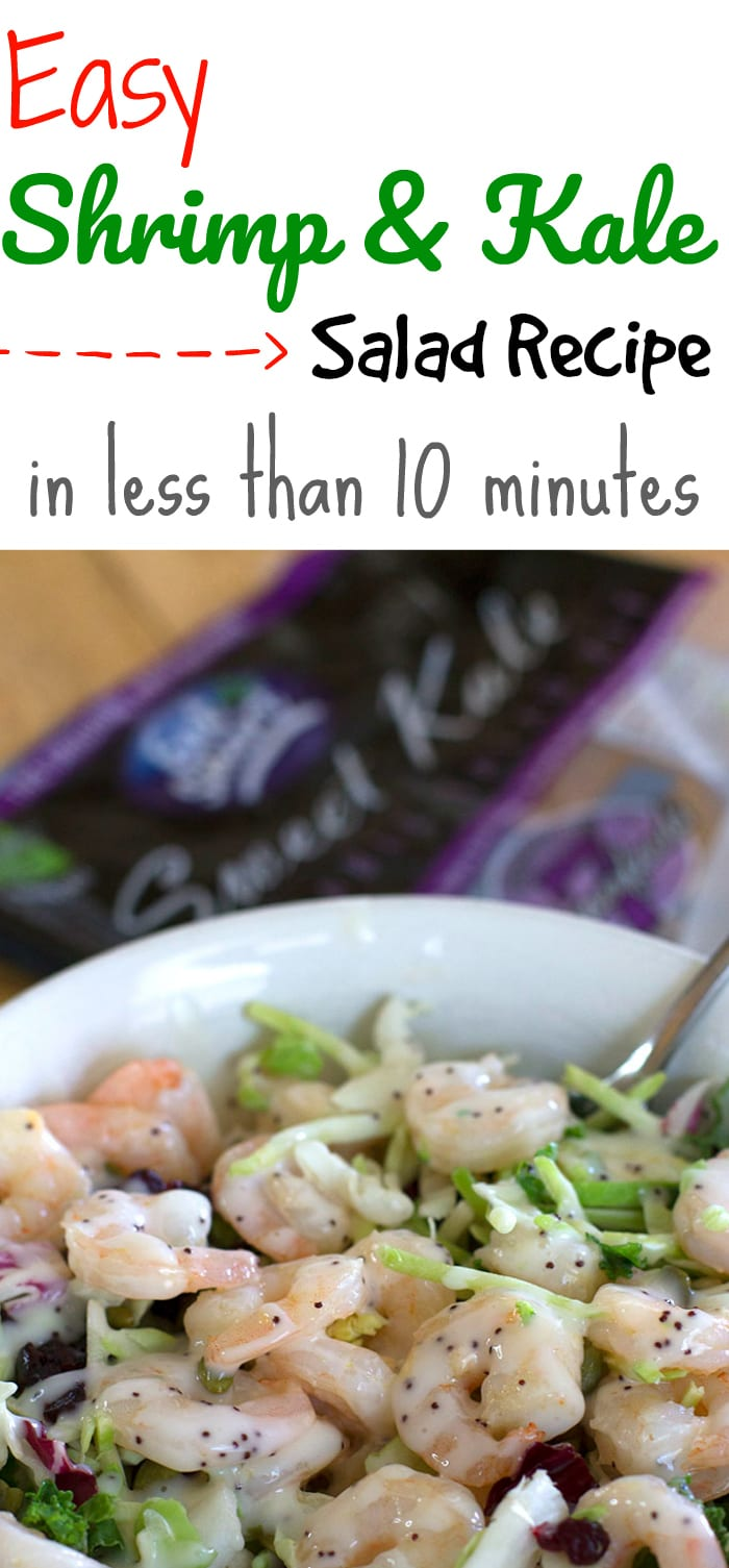 Easy Shrimp and Kale Salad Recipe