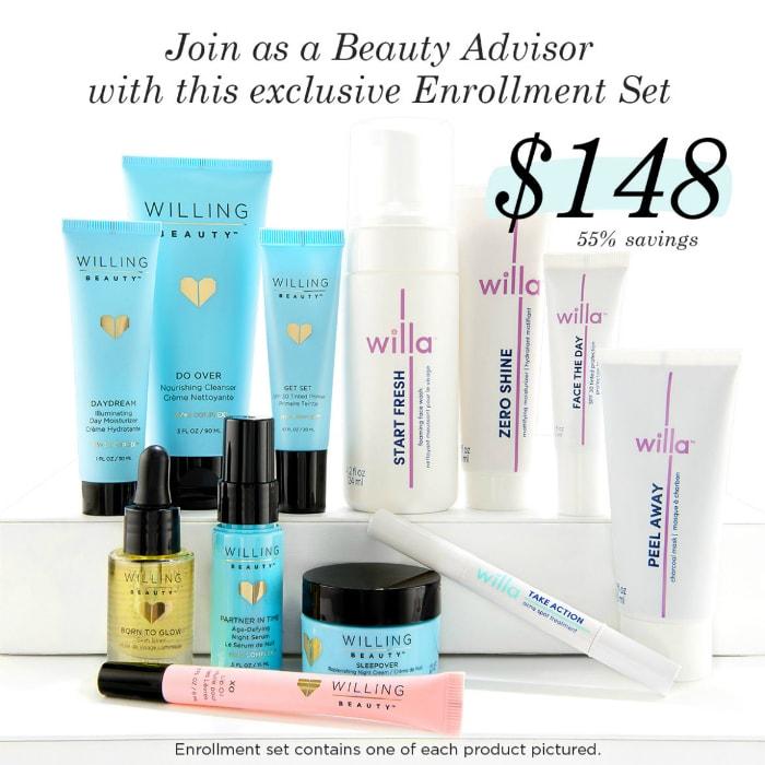 Willing Beauty Advisor Package