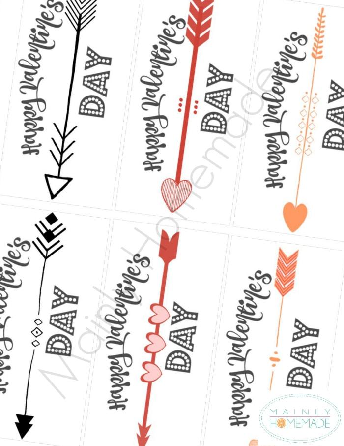 Valentines Arrows picture