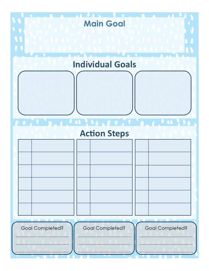 Goal Worksheet