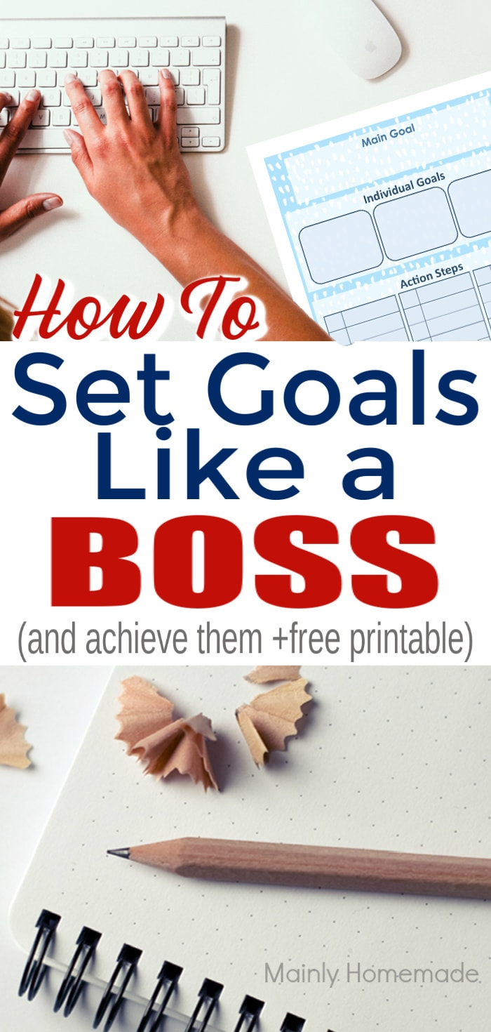 How to set goals and achieve them like a boss