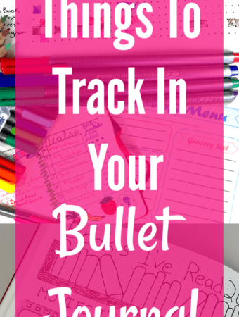 The Best Things to Track in Your Bullet Journal