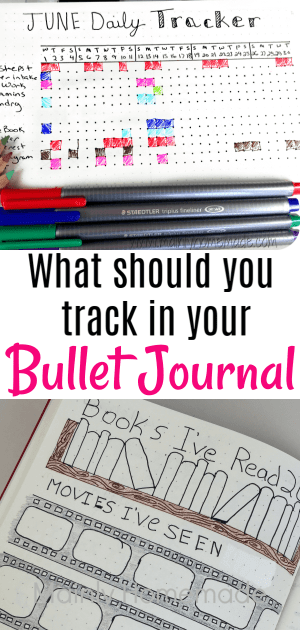 What should you track in your Bullet Journal