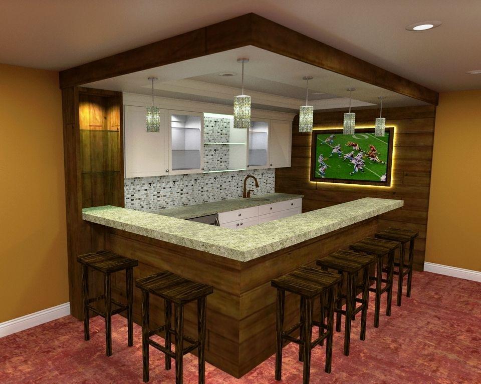 Basement Remodeling Ideas Bar For Basement