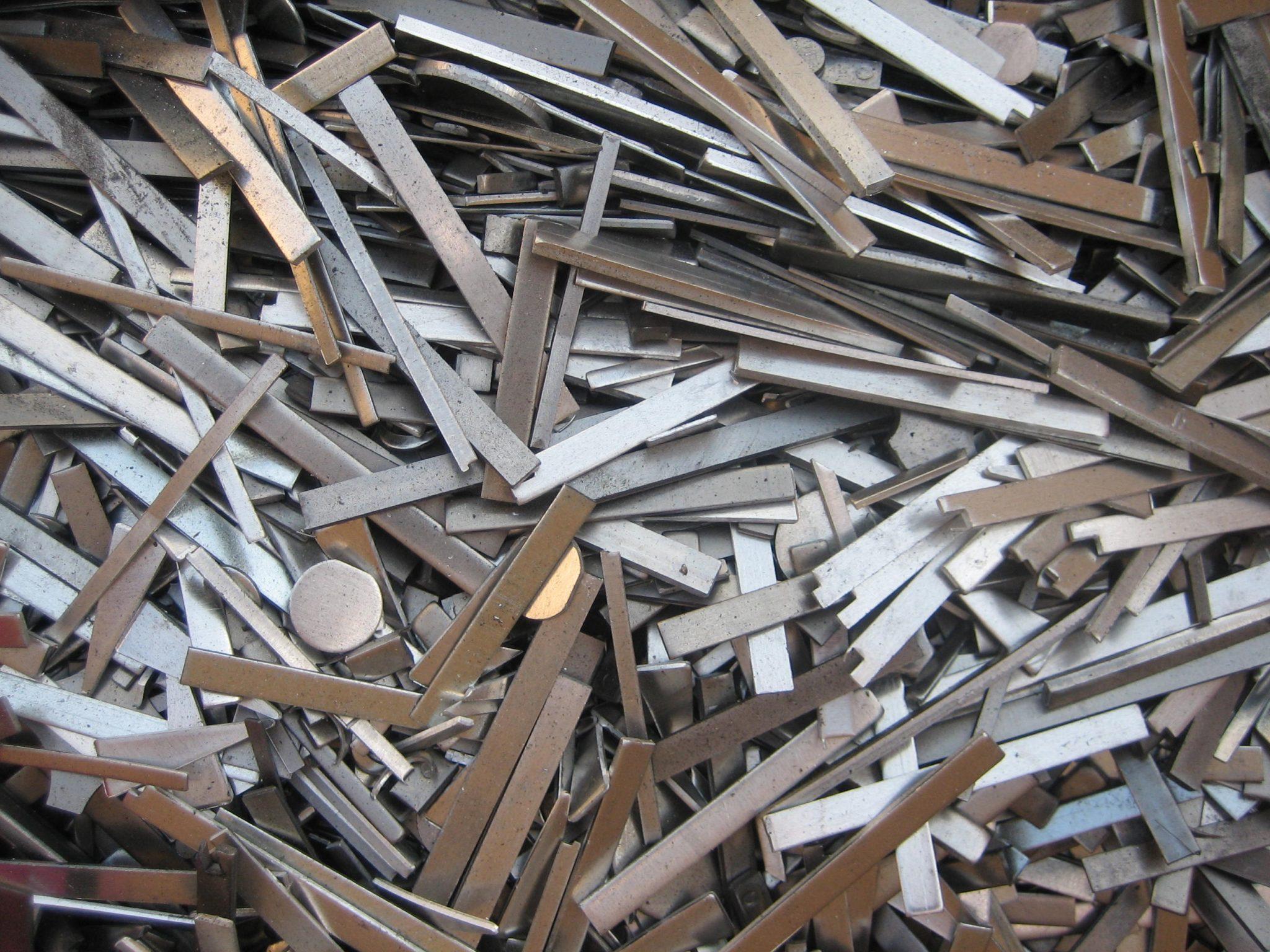 Steel Scrap Metal : Metal recycling steel copper tin main