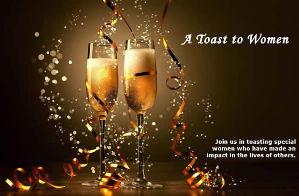 a toast to women