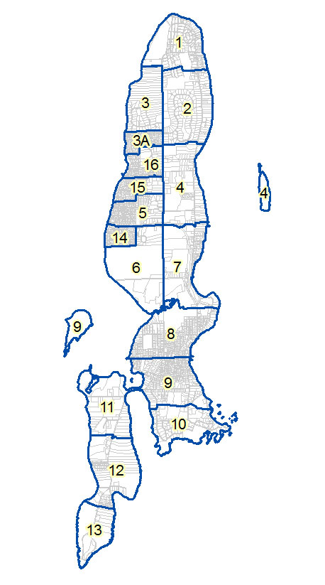 Click on a link to view or download Assessor's Tax Maps in