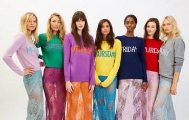 Alberta Ferretti collezione Rainbow Week