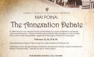 Mai Poina Annexation Flyer