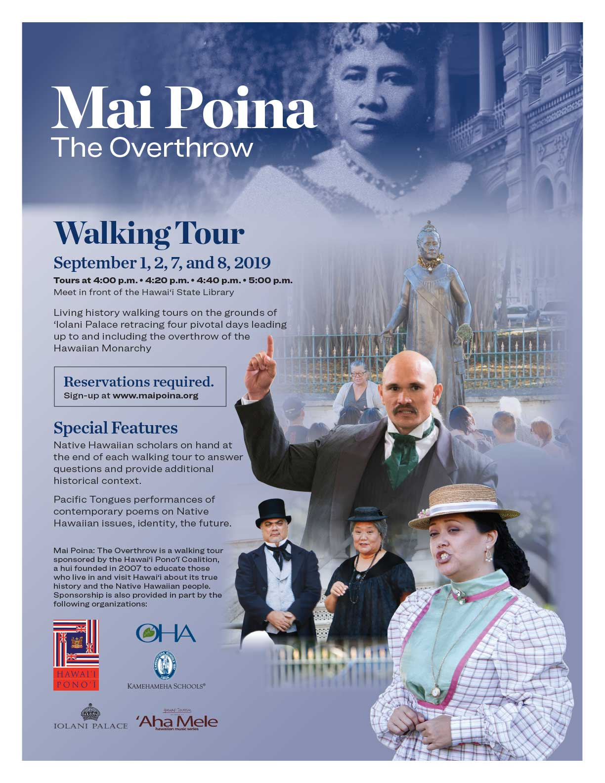 2019 Mai Poina Flyer