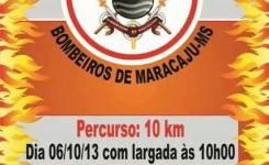 1ª Corrida Pedestre 10 anos do Corpo de Bombeiros de Maracaju