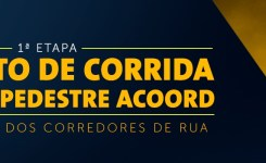 Circuito de Corrida Rústica Pedestre ACOORD – 1ª Etapa – Dourados-MS