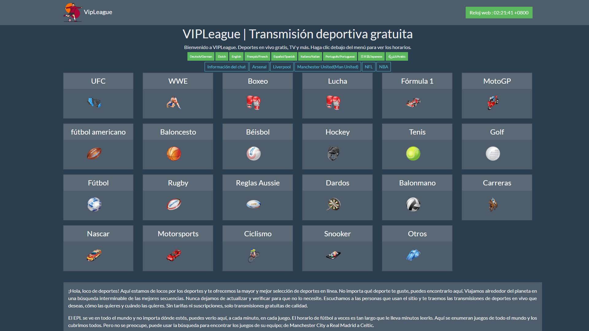 VIPLeague [Sports Stream] TV NFL Boxing Baseball Basketball Mobi SE