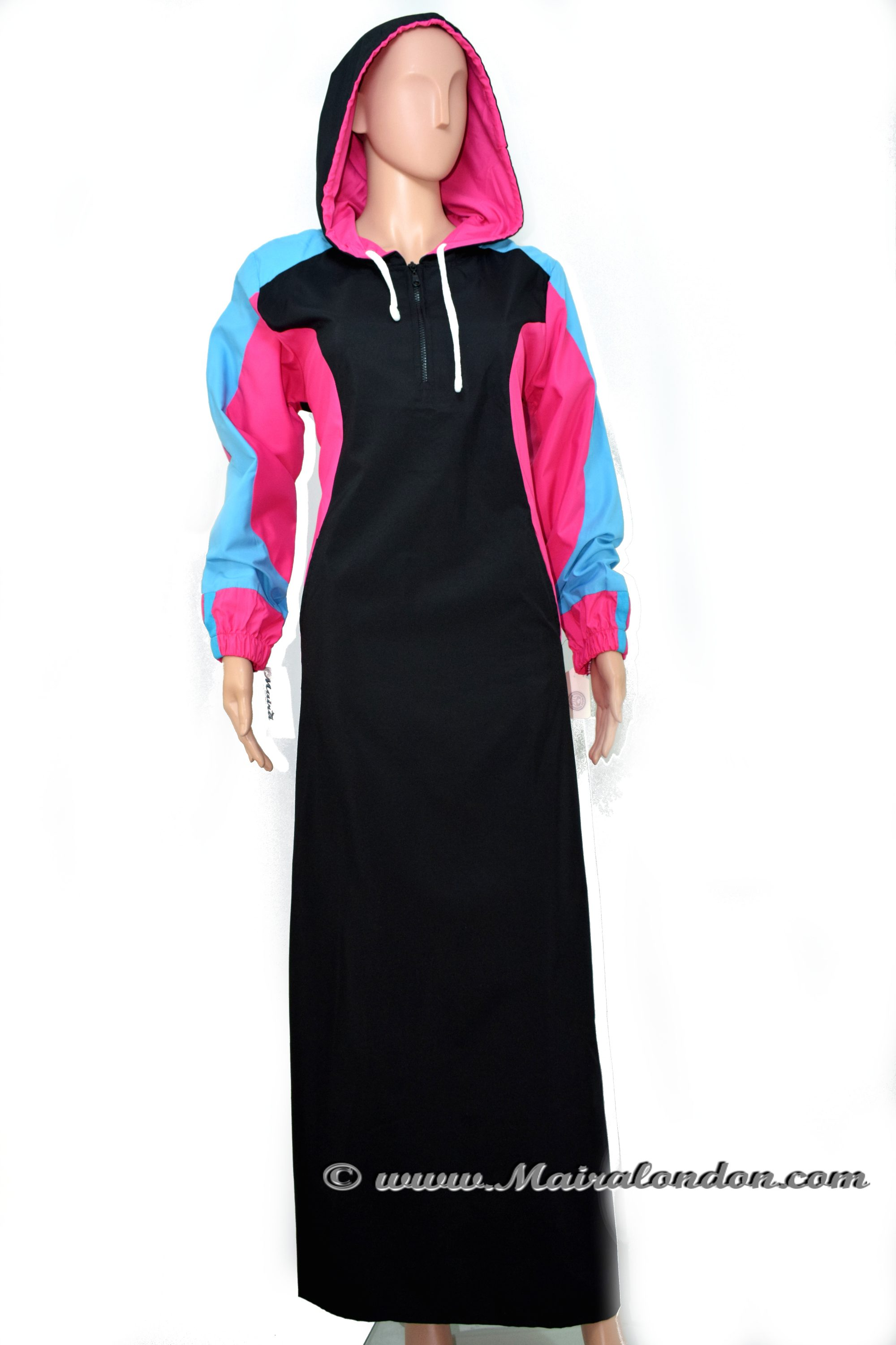 Hooded Sports Abaya