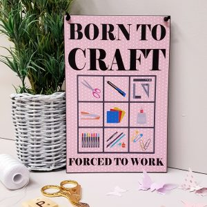Craft Room Signs Archives Maise And Rose