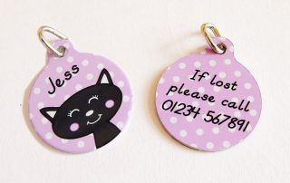 Personalised Cat Tags