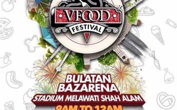 VFOOD Festival 2016   Stadium Shah Alam