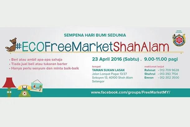 Eco Free Market Shah Alam 2016 - Image 1