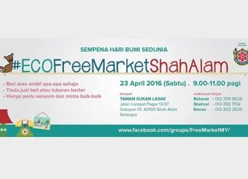 Eco Free Market Shah Alam 2016 | Seksyen 13