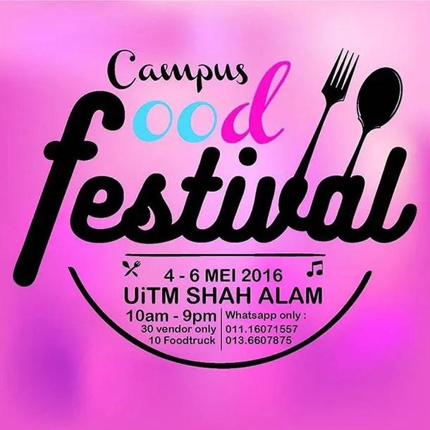 Campus Food Festival 2016 UITM Shah Alam - Image 1