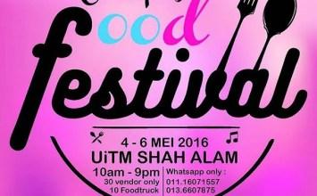 Campus Food Festival 2016 | UITM Shah Alam