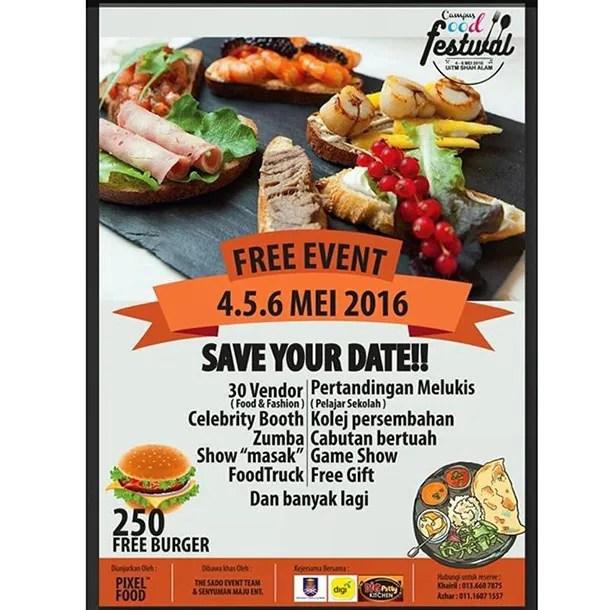 Campus Food Festival 2016 UITM Shah Alam - Image 3