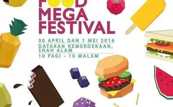 Food Mega Festival 2016 | Dataran Kemerdekaan Shah Alam