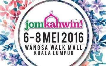 Pameran Pengantin Jom Kahwin 2016 | Wangsa Walk Mall