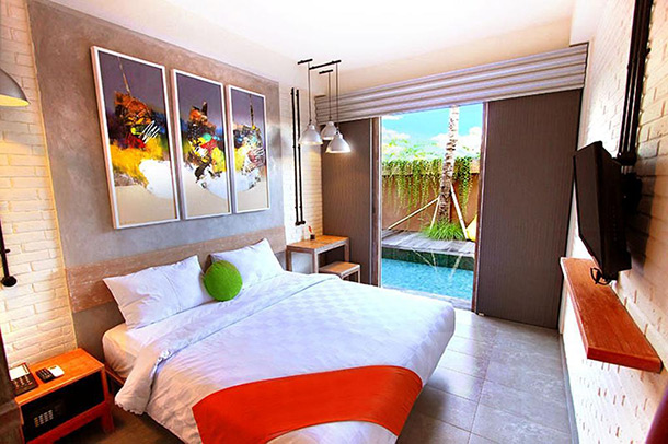 Frii Bali Echo Resort Room