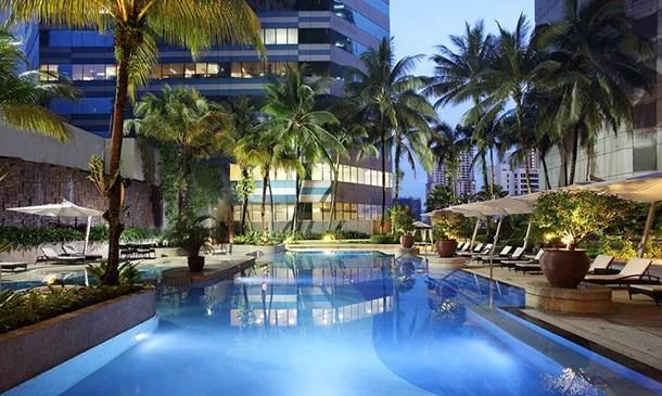Intercontinental - Pool Side Image