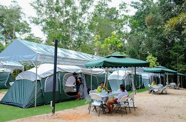Tanah Aina Fahad - Camp Area