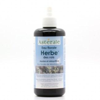 Eau florale Herbe des rois - Spray d'urgence Aromathérapie - Astérale 60 ml - label Nature et progrès
