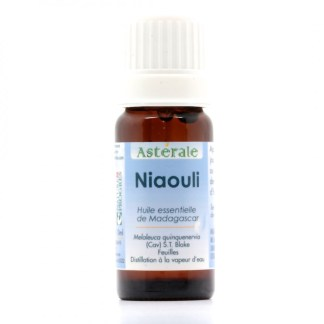 HE Niaouli 10 ml - label Nature et progrès