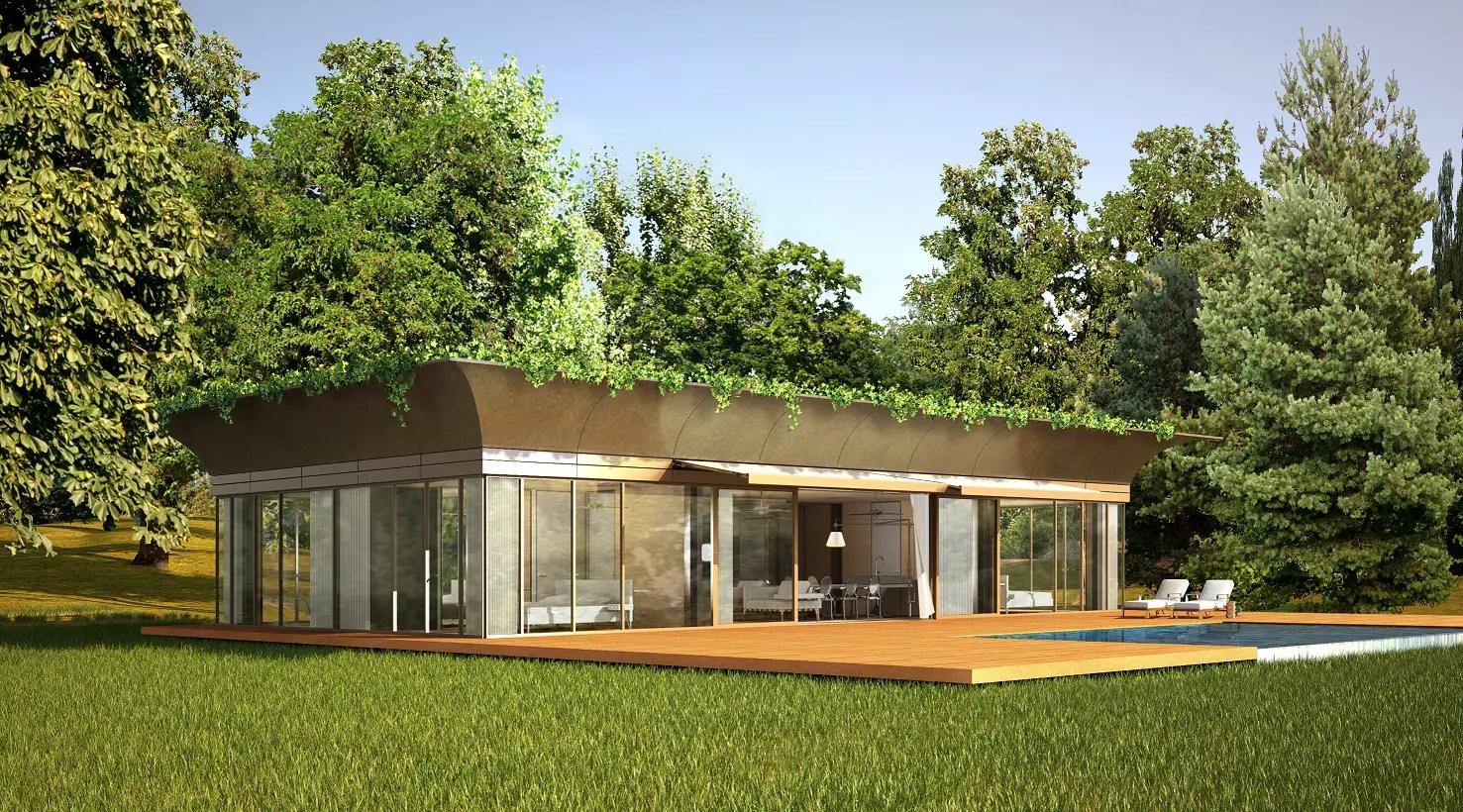 Maison cologique en kit Starck  Riko design et technologique  Maison eco bois
