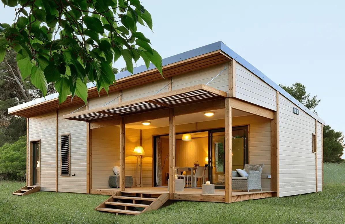 chalet en bois habitable 50 m2 maison