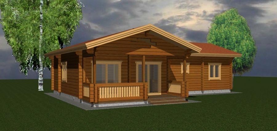 plans de maisons bois massif esprit