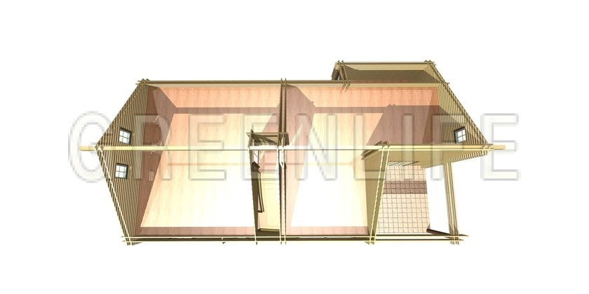 Top Maison Bois Greenlife. Couverture Duune Maison Cologique Avec Des  KF06