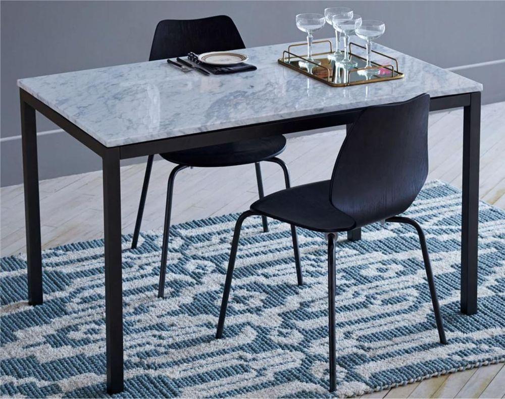Nettoyer une table de bistrot en marbre  Maison Castelli