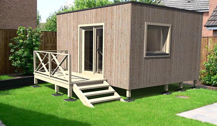 Studios de jardin et maisons  ossature bois cl en main  partir de 24 900  TTC livr