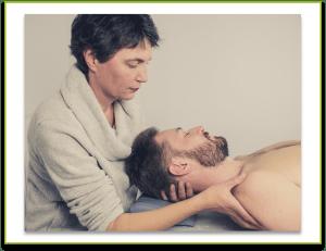 Ostéopathe Montpellier Léonhard étirement blocage cervical