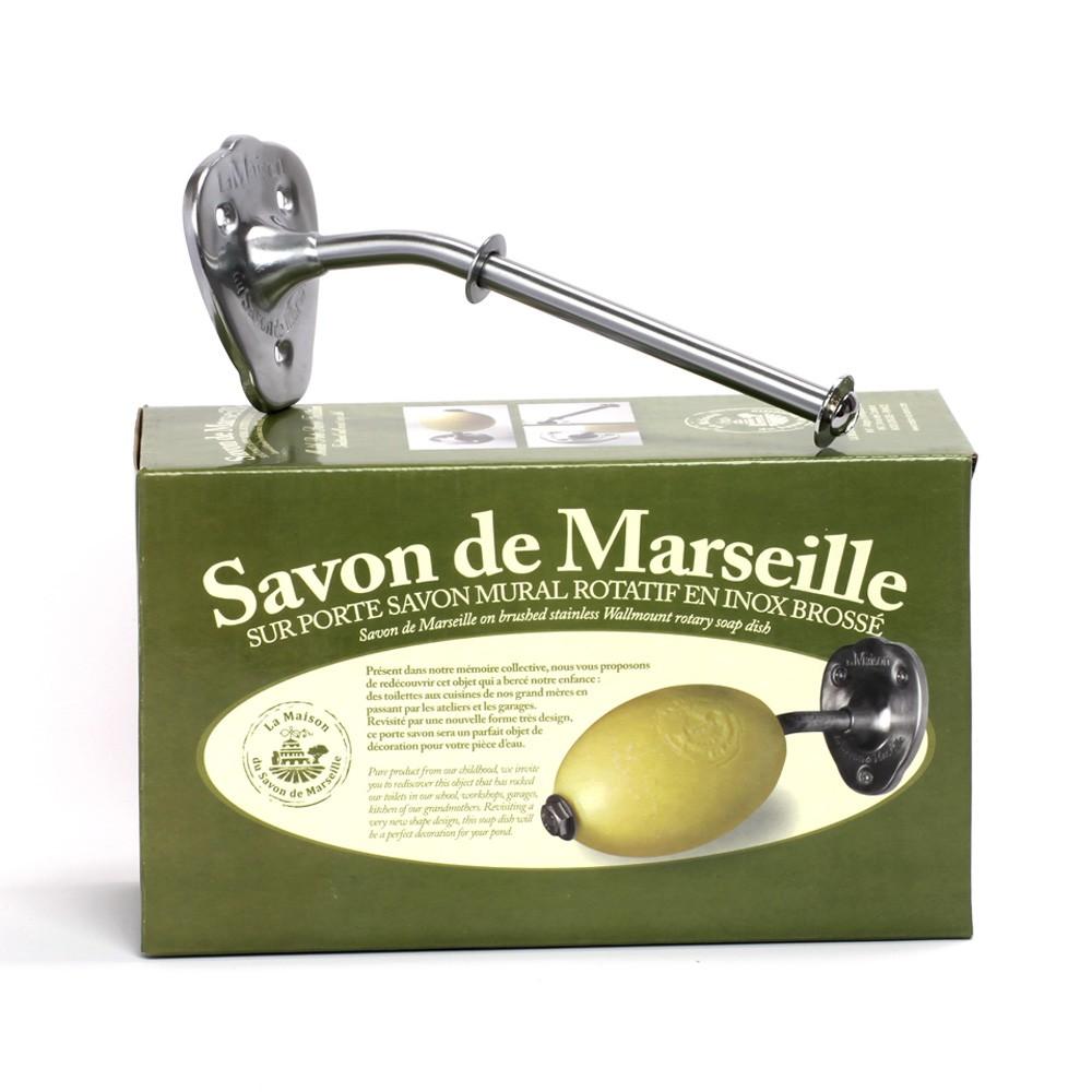 porte savon mural acier inoxydable mat la maison du savon de marseille belgique