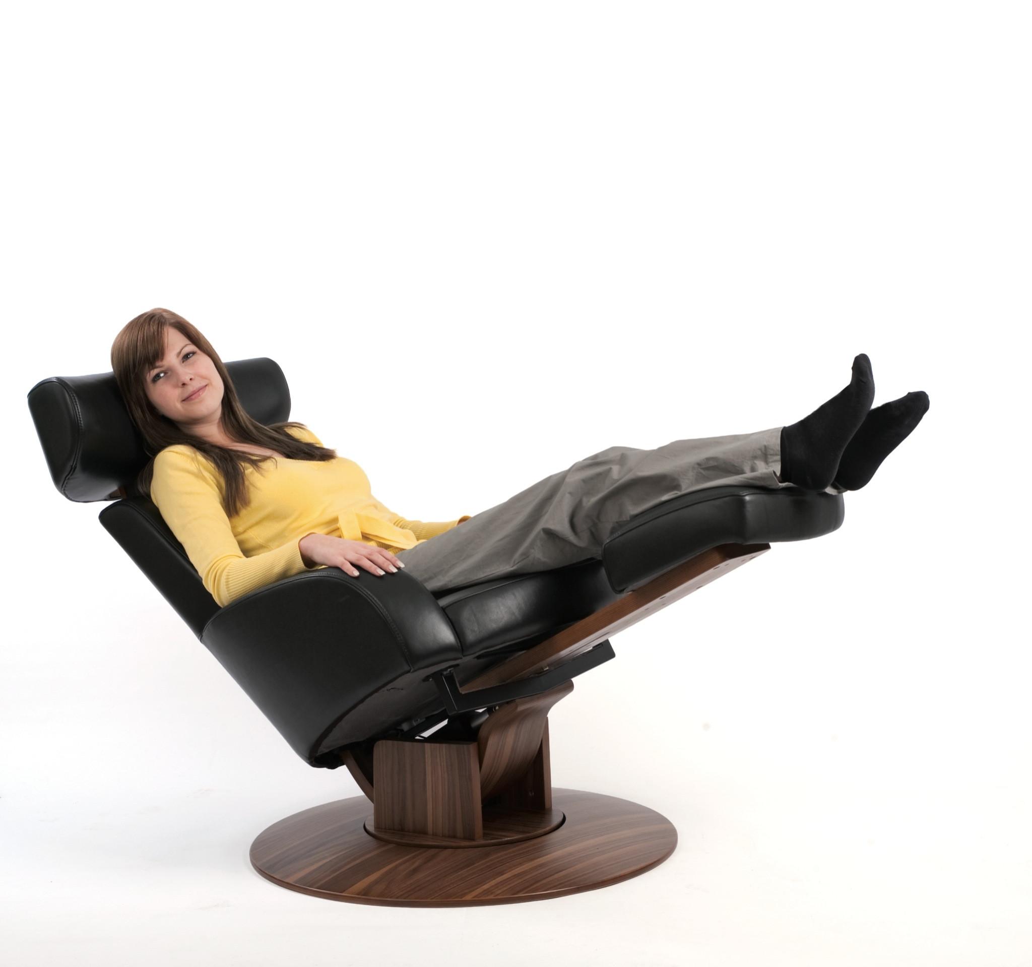 Fauteuil De Relaxation En Cuir MOIZI 31 Siges