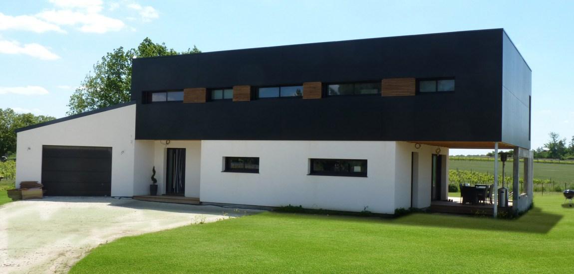 Maison en bois vivanbois for Bardage maison ossature bois
