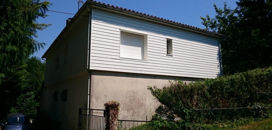 isolation des murs maison en bois vivanbois. Black Bedroom Furniture Sets. Home Design Ideas