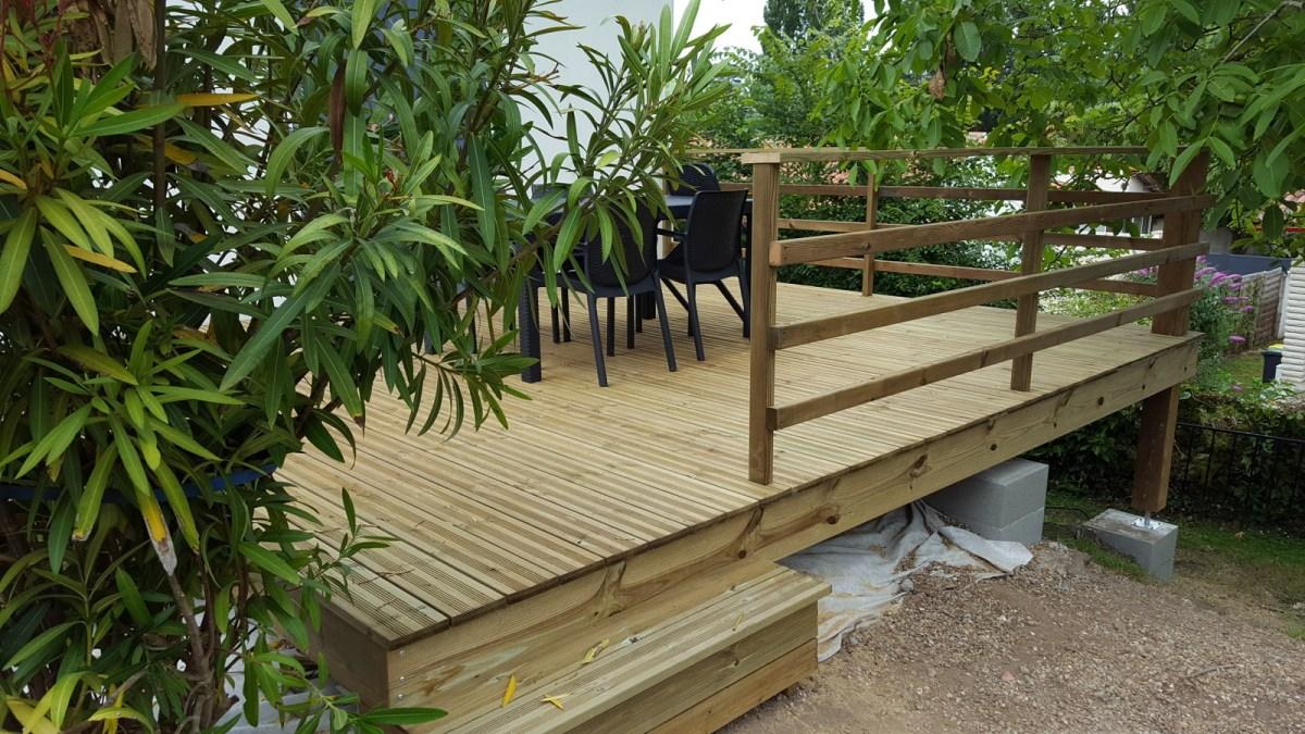 Vivanbois am nagement ext rieure structurre de terrasse - Bois de terrasse classe 4 ...