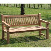 3 Sitzer TEAK Gartenbank PATRICK 166 cm Holz Bank Garten ...