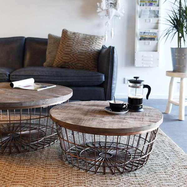 Beistelltisch New Glory Cm Kupfer Rund Couchtisch Kaffeetisch Holz Metall New Maison Esto Ihr Gro Er Mobel Online Shop