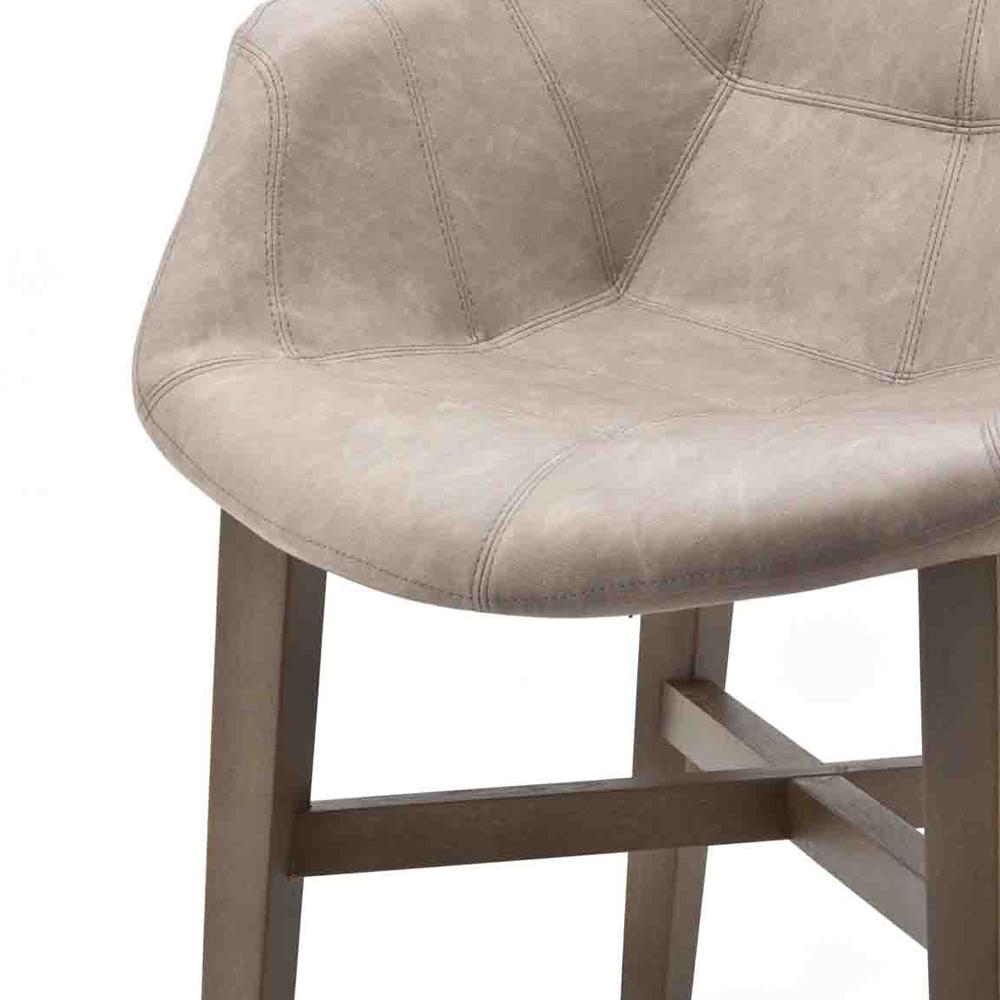 Vintage Stuhl NEBA sand Armlehne Polsterstuhl Sessel Esszimmer Esszimmerstuhl  New  Maison